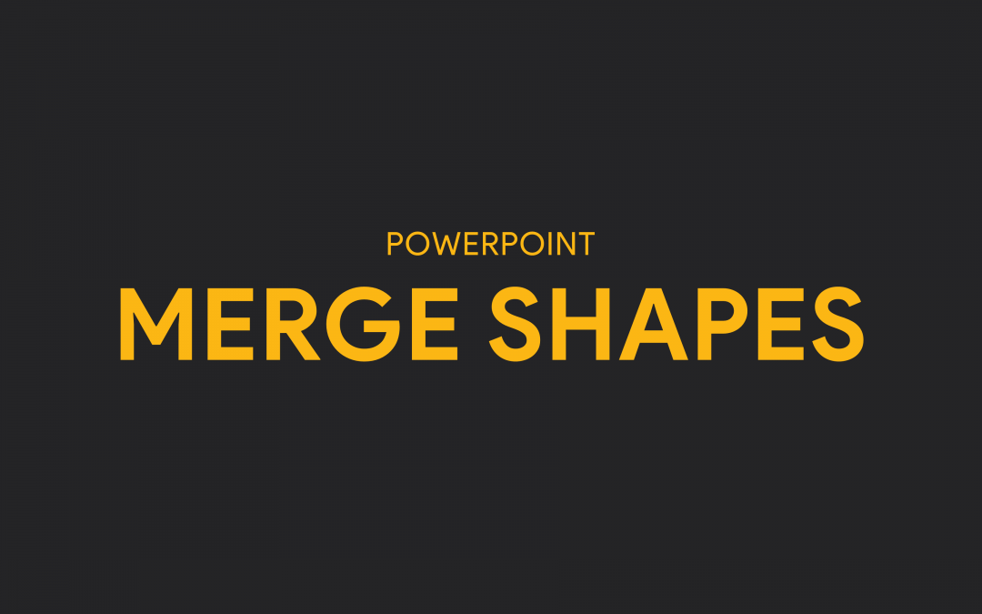 Fitur Merge Shapes pada PowerPoint