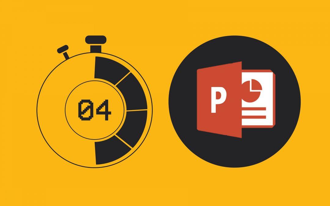 Membuat Timer & Hitung Mundur (Countdown) Sederhana di PowerPoint