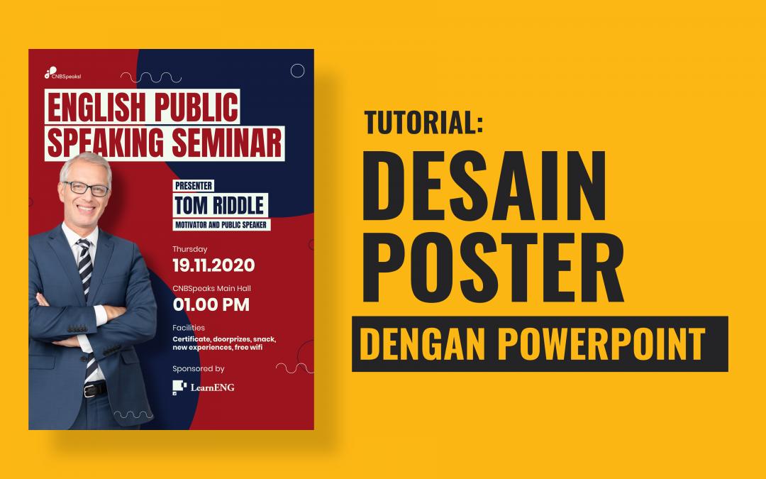 Membuat Desain Poster dengan Powerpoint