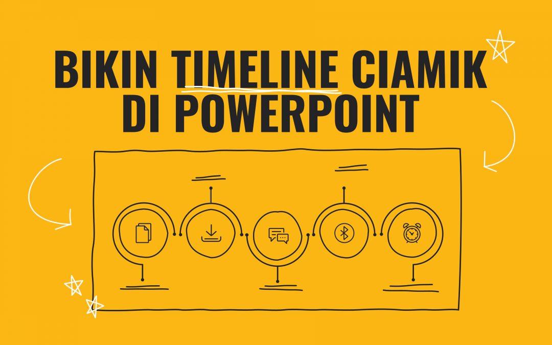 Langkah Mudah Membuat Timeline Kreatif di PowerPoint untuk Presentasi